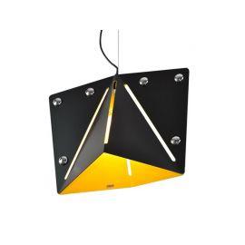 Designerska modna lampa wisząca KIRIGAMI black-yellow Nowość