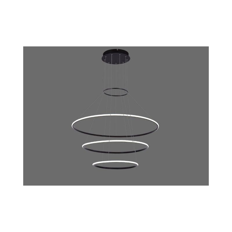 Nowatorska Lampa Sufitowa Wiszaca Led Galaxy 3 W Kolorze Czarnym O