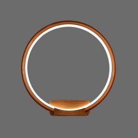 Minimalistyczny kinkiet Pista Illuminata R silver wykonany w technologii LED Nowość 18W
