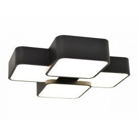 Nowoczesny plafon LED LIGHTSPACE 4 unikalny design Nowość 36W czarny