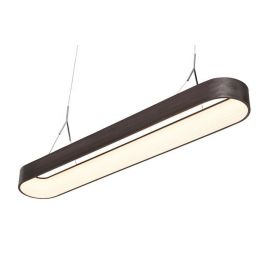 Nowoczesna lampa LEDMAX 120cm w kolorze metalicznym Mocca 44W II Gatunek