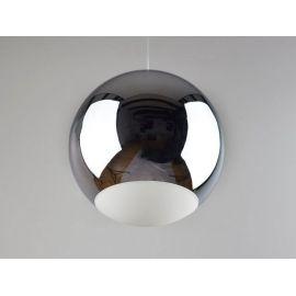 Minimalistyczna metalowa lampa led Globo chrom 12W
