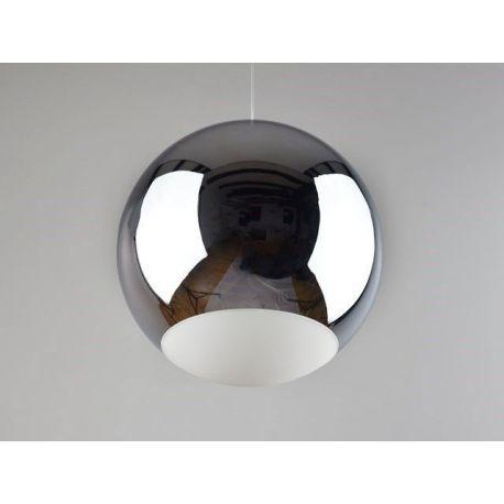 Minimalistyczna metalowa lampa led GLOBO chrom 12W Nowość