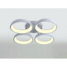 Nowoczesny Plafon w Technologii LED 4 Ringi 84W
