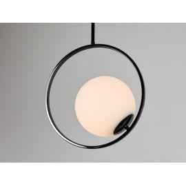 Lampa sufitowa Bella w kolorze czarnym chromowana