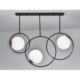 Oryginalna Lampa Sufitowa Bella 3 w kolorze czarnym chromowanym Nowość