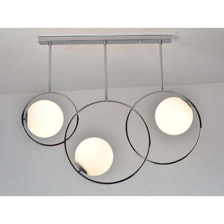 Designerska Lampa Sufitowa Bella 3 chromowana Nowość