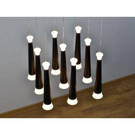 Designerska lampa LED Skytower 9 o mocy 63W barwa ciepła Nowość