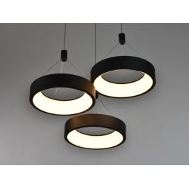 Nowoczesna lampa LED MERCURY w wersji okrągłęj z 3 ringami 63W