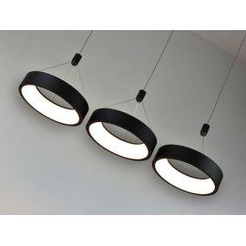 Nowoczesna lampa led MERCURY z 3 ringami 54W barwa ciepła 3000K