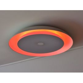 Inteligentna i nowoczesna lampa SMARTLED 36W z bluetooth, zmianą barwy światłą led, wyposażona w głośnik speaker 6W