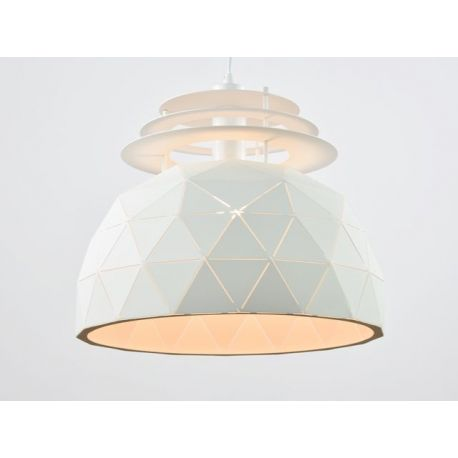 Oryginalna lampa wisząca Oslo w wersji S white 40cm w skandynawskim stylu