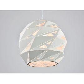 Ażurowa lampa wisząca Bianca white 30cm