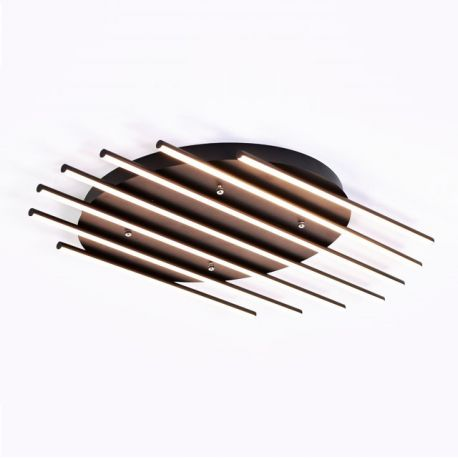 Designerski plafon led PIANO 98W 99cm z barwą ciepłą 3000K Nowość