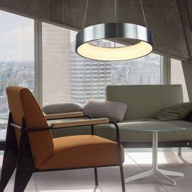Aluminiowa lampa led COSMO RP RAW 36W 60cm z barwą ciepłą 3000K