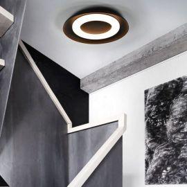 Nowoczesny plafon led Astro 36W o śr. 55cm z barwą ciepłą 3000K