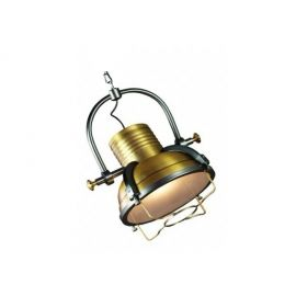Industrialna złota lampa sufitowa Lofter w II gatunku