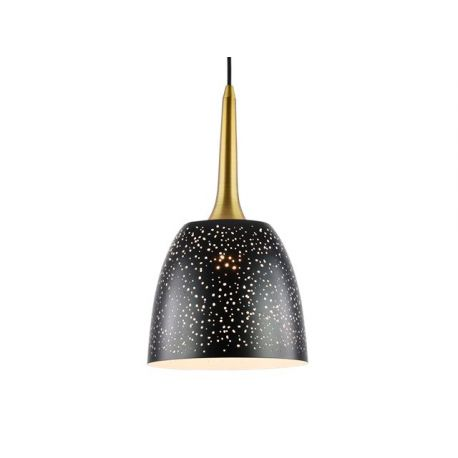 Modna lampa wisząca SPECTRUM S gold Glamour
