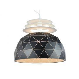 Designerska lampa wisząca Oslo w wersji S black 40cm w skandynawskim stylu