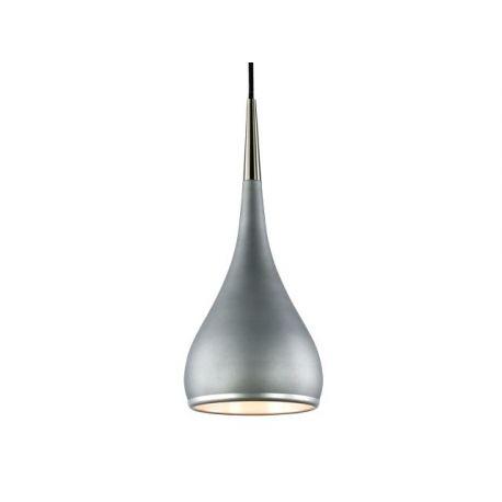 Stylowa lampa wisząca ODENSE w kolorze stalowo-betonowym Nowość