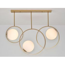 Złota lampa Bella 3 Nowość