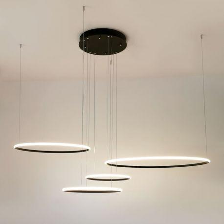lampy wiszace okregi nowoczesne
