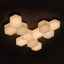 Designerski plafon Hexa11 z funkcją ściemniacza i zmiany barwy led super jasny 132W