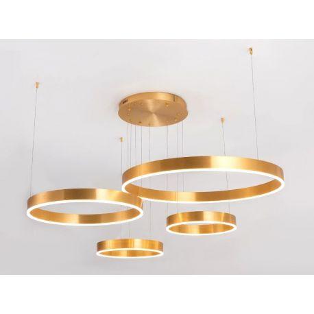 Nowoczesna lampa GOLDENRING w technologii led o mocy 110W z ciepłą barwą 3000K Nowość