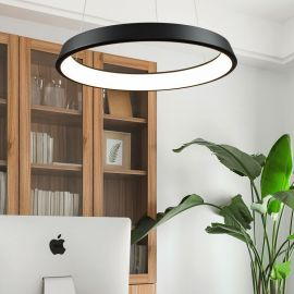 Nowoczesna Lampa COSMO technologia LED 60cm czarna