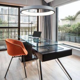 Lampa LED COSMO I szara rozmiar 60cm modern design