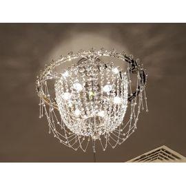 Kryształowa lampa sufitowa Chic do nowoczesnych i klasycznych wnętrz