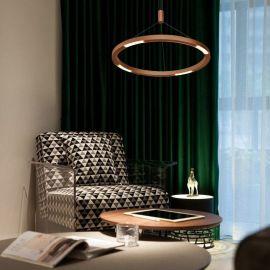 Nowoczesna lampa Evoled 34W do nowoczesnych wnętrz 60cm z barwą ciepłą 3000K