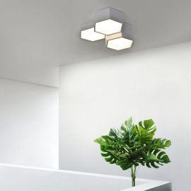 Nowoczesny plafon FAVO 3 wykonany w technologii LED 36W Nowość