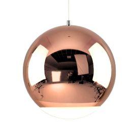 Nowoczesna lampa led Globo w kolorze miedzianym 12W