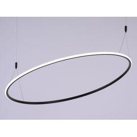 Designerska lampa sufitowa led MILANO w kolorze coffee o mocy 48W Nowość