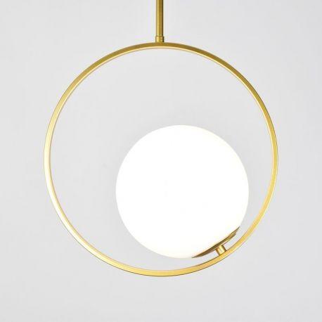 Minimalistyczna złota lampa Bella Nowość