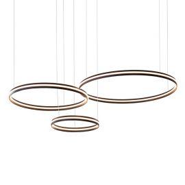 Nowoczesna lampa led Ledway3 o mocy 110W z barwą ciepłą 3000K z potrójnymi ringami