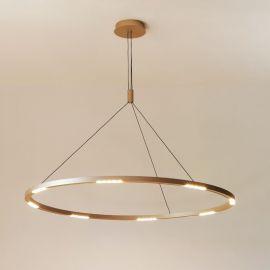 Lampa Evoled 68W unikalny design do nowoczesnych wnętrz 120cm z ciepłą barwą 3000K