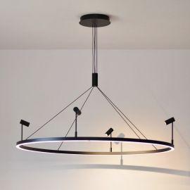 Ultranowoczesna lampa wisząca led Ledtrend L z barwą 3000K 66W