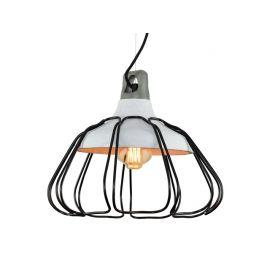 Unikatowa lampa betonowa z serii Concreto Cage do każdego wnętrza