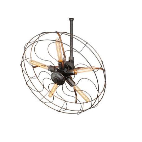 Oryginalna Lampa w formie wiatraka Vintage